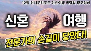 [2019년 12월 허니문리조트 신혼여행 박람회 광고 …