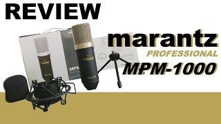 Marantz Professional MPM-1000 Mikrofon Review Kondensator Microphone Marantz Deutsch