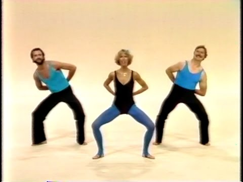 Jazzercise 1982 Original Workout 80's Video FUNNY COMPILATION Judi Sheppard Missett