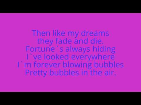 West ham Chant, With lyrics{I`m forever Blowing bubbles
