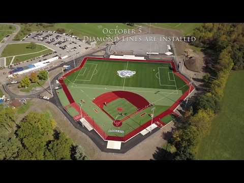 Finger Lakes Community College Turf Field Installation Documentary - Full HD - best part at the end!