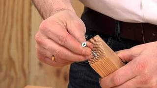 Möbelbau: Rettung für zu große Schraubenlöcher!