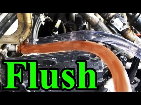 How to Flush a Heater Core Safely with a garden hose