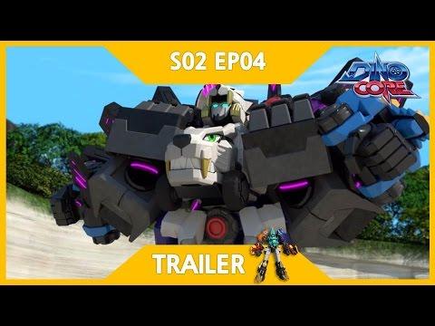 [DinoCore] Trailer | 5 Combo Robot, Ultra D-Saber | Dinosaur Animation | Season 2 EP04