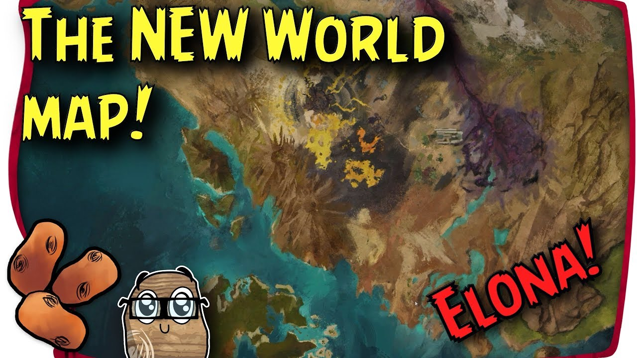 Guild Wars 2 Path Of Fire Map Guild Wars 2 Path of Fire   The New Tyrian World Map! | The