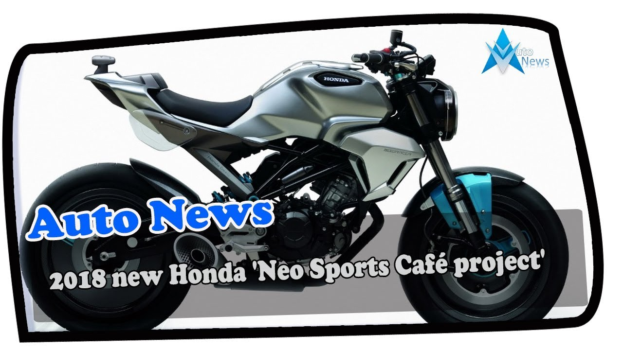 2018 honda neo sports cafe. exellent sports look this 2018 new honda u0027neo sports caf projectu0027 and 2018 honda neo sports cafe youtube