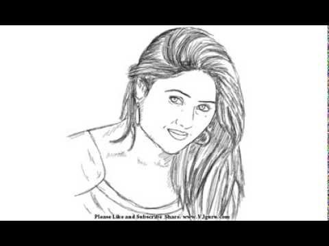 How to draw beautiful girls yzarts yzarts youtube