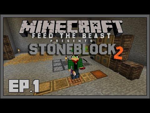 Download Ftb Stoneblock 2 Here We Go Again MP3, MKV, MP4 - Youtube