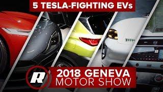 Tackling Tesla: 5 best electric cars at the 2018 Geneva Motor Show