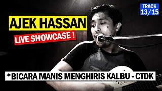 AJEK HASSAN Malam Akustika (Track 13/15) Bicara Manis Menghiris Kalbu _ Siti Nurhaliza - N2N Studio