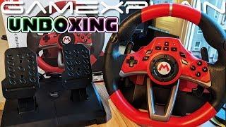 Mario Kart Racing Wheel Pro Deluxe UNBOXING (+ Mini Wheel!)
