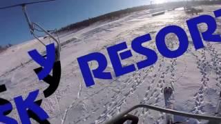 VLOG: горнолыжный курорт/упала носом в снег?(, 2017-01-07T05:45:29.000Z)