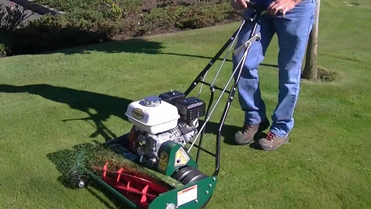 New California Trimmer Reel Mower Hd Youtube