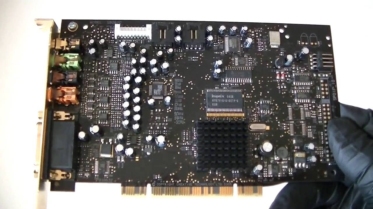 CREATIVE LAB PCI64 DRIVERS FOR MAC