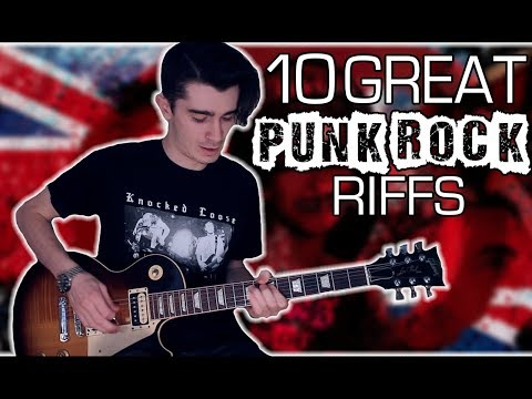 10 Great Punk Rock Riffs w/ Tabs