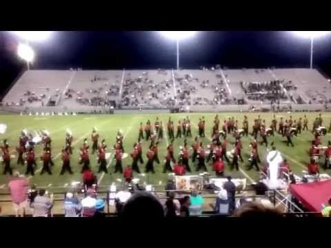 Dothan High School Marching Band Halftime Show