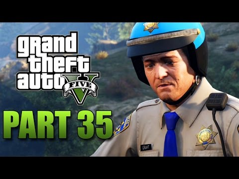 GTA 5 Xbox One Gameplay Walkthrough Part 35 - Let's Be Cops (Next Gen)