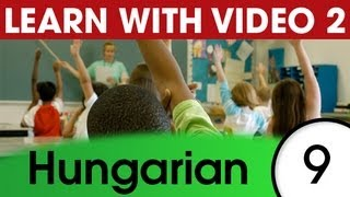 Learn Hungarian with Pictures and Video - Hungarian Expressions and Words for the Classroom 2