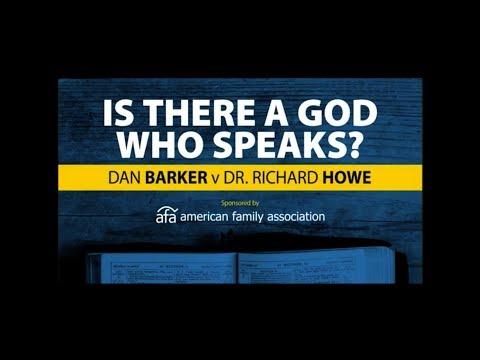 Dan Barker Debates Richard Howe | Is There A God Who Speaks?