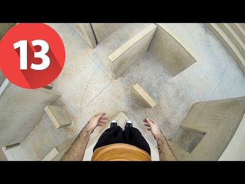 #13 TREINO DE PARKOUR 2 - A HORA DO SHOW PORRA - Nada de Interessante