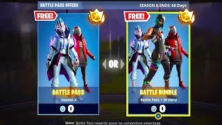 HOW TO GET SEASON 10 BATTLE PASS FOR FREE! (FORTNITE BATTLE ROYALE)