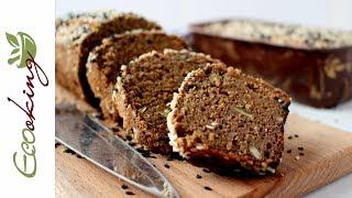 Хлеб на быстрой закваске из зеленой гречки и красного риса / gluten free без дрожжей, без муки