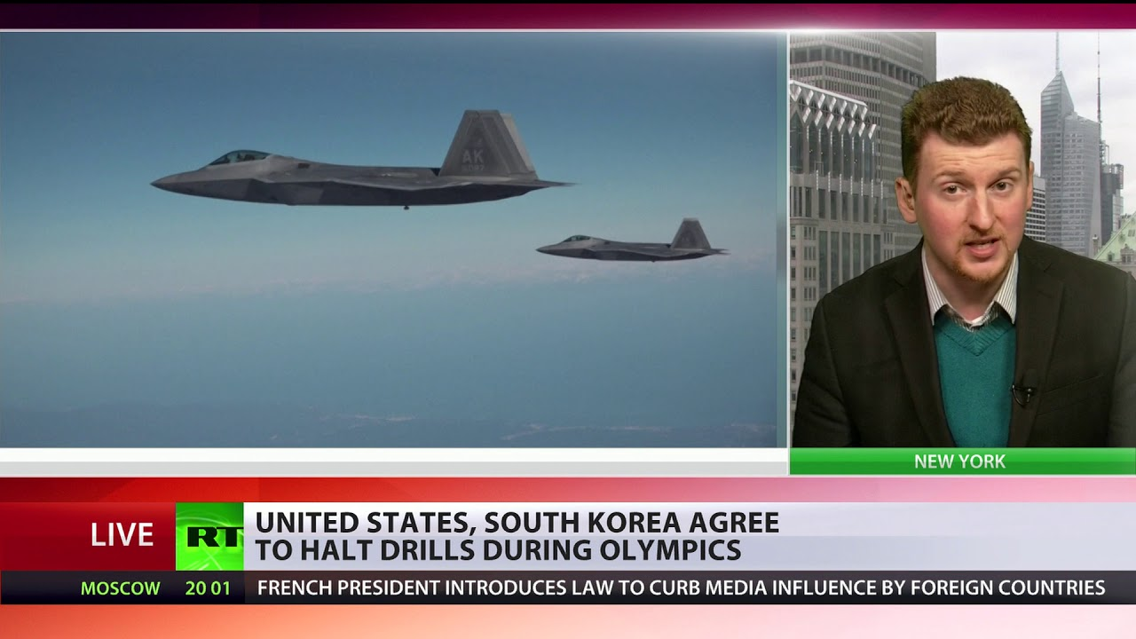 No military drills with S. Korea during Winter Olympics – Trump