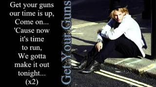 Get Your Guns - Jamie Campbell Bower & The Darling Buds [Lyrics]