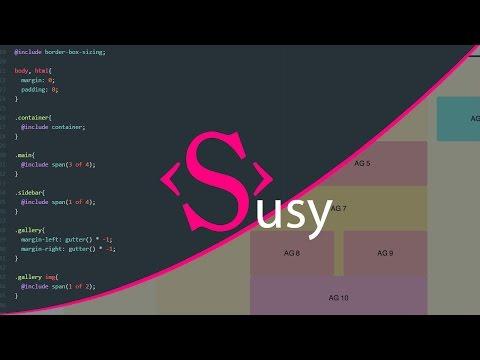 Tutoriel SASS : Susy