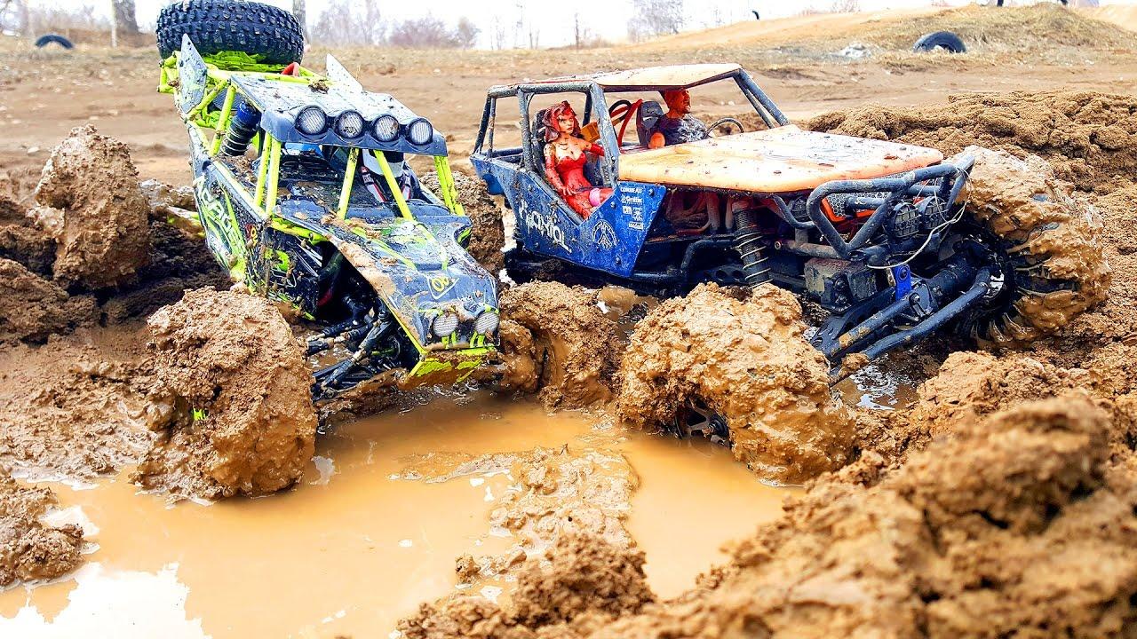 Rc Mud Trucks 4x4 Trail Axial Wraith Vs Wltoys 10428 Rc Extreme