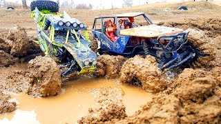 RC MUD Trucks 4x4 Trail - Axial Wraith VS WLtoys 10428 - RC Extreme Pictures