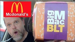 New McDonald's Big Mac BLT Burger Review - Greg's Kitchen