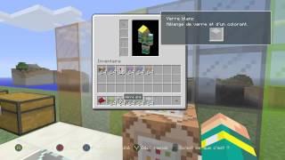 Minecraft Xbox One/360 - Vitre colorée + Commande Bloc ! TU19 [FR]