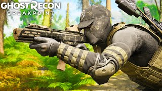 NEW FLAWLESS STEALTH WEAPON in Ghost Recon Breakpoint Free Roam