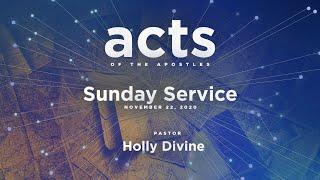Sunday Service - November 22, 2020