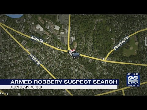 Springfield police looking for Allen St. armed robbery suspect