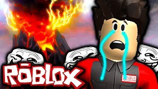 THE NATURAL DISASTERS MORE TROLL 😂 😂 Roblox Natural Disasters