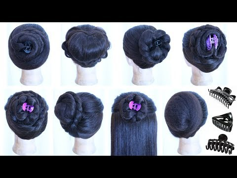 8 Cute And Easy Everyday Hairstyles With Using Clutcher Juda