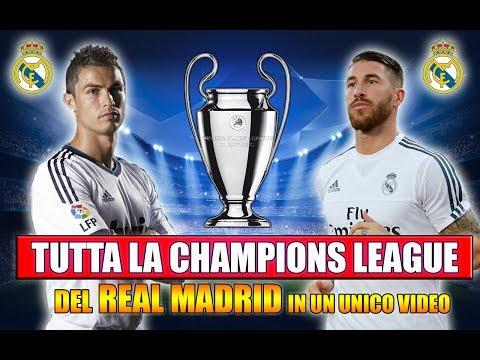 TUTTA LA CHAMPIONS LEAGUE DEL REAL MADRID IN UN UNICO VIDEO!! [By Giuse360]