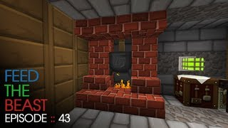 Minecraft Feed The Beast - E43 :: The Flame Master!
