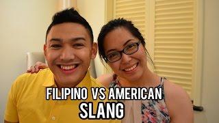 Filipino Vs. American Slang With Ohitsrome! - Saytiocoartillero