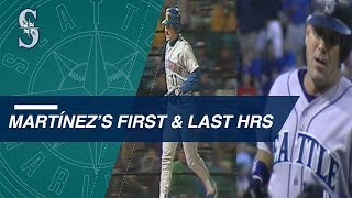A look at Edgar Martinez's first and last home runs