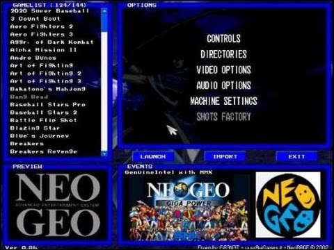 neo geo complet startimes