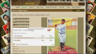 Babe Ruth Graded Baseball Card Value Price Guide