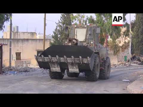 Israel Demolishes Homes Of Palestinian Attackers