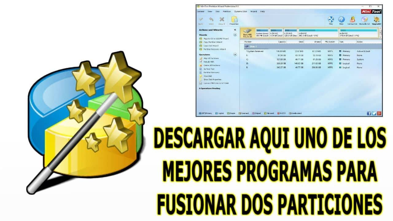 🥇 Descargar Minitool Partition Wizard 10 Full 2020 Crear Borrar Modificar Particiones  [FUNCIONANDO]