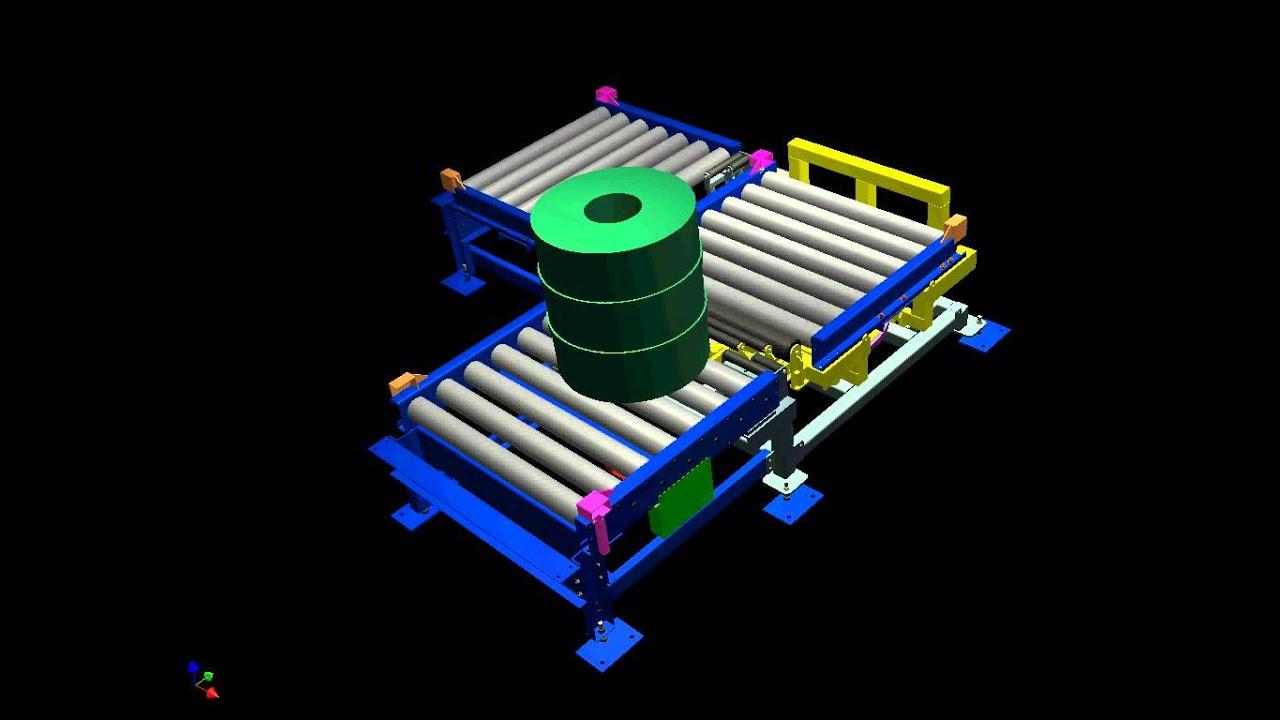 Animation Of Conveyor Turntable Created In Autodesk