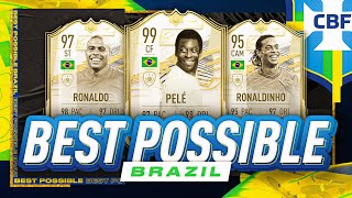 BEST POSSIBLE BRAZIL TEAM w/ PRIME MOMENTS RONALDO | FIFA 21 ULTIMATE TEAM