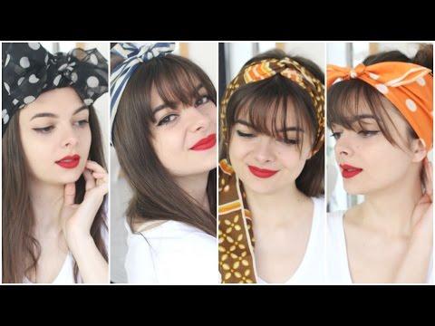 Four Ways To Tie Headscarfs