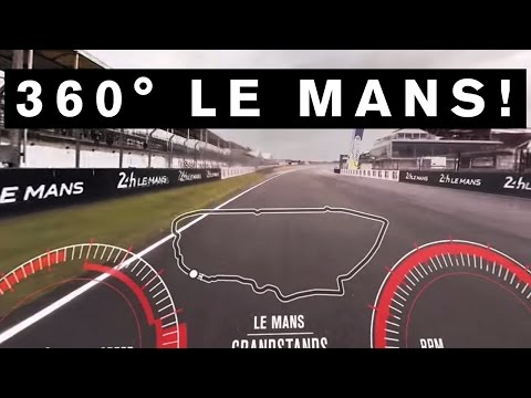 INCREDIBLE 360 DEGREE VIDEO! GT-R Drives First EVER 360 VR lap of #LeMans #GTR #NISMO